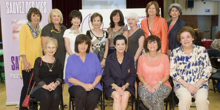 Many of The Auxiliary's past presidents came together earlier this year for a luncheon co-chaired by Marilyn Golfman, Hela Boro and Lucy Wolkove. This was followed by a tour of the new Emergency Department in Pavilion K.
