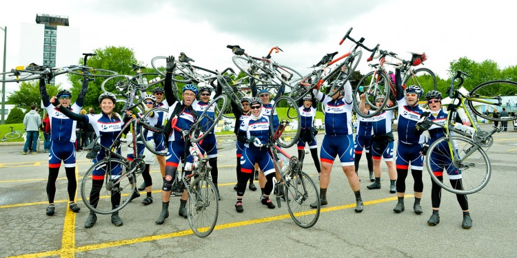 Enthusiasm runs high among cyclists in the 2016 Enbridge Ride to Conquer Cancer.