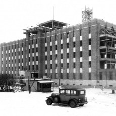 By the end of 1931, construction of the JGH was well under way. When opened in 1934, the structure that is pictured here comprised the entirety of the hospital. Today it is simply known as Pavilion B, one of the JGH's many pavilions.