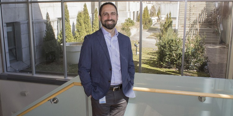 Dr. Justin Cross, Chief Digital Health Officer for CIUSSS West-Central Montreal