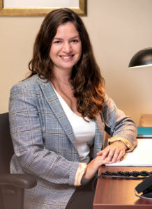 Gabrielle Chartier, a Nurse Navigator in the Head and Neck Oncology section of the Segal Cancer Centre.