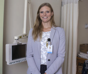 Erin Cook, Co-Director of Operations at the Segal Cancer Centre.