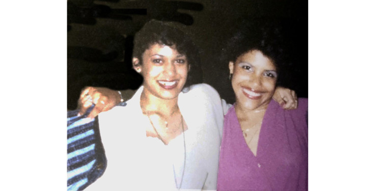U.S. Vice-President-Elect Kamala Harris (left) and Wanda Kagan during their high school years in Montreal. Ms. Kagan is now an Administrative Agent in the Academic Affairs Directorate of CIUSSS West-Central Montreal.